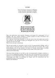 Herinneringsboek aa50 - AA Vlaanderen