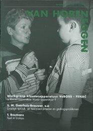 Werkgroep klassenappar S. M. Goorhuis-Brouwer, e.a T. Boumans
