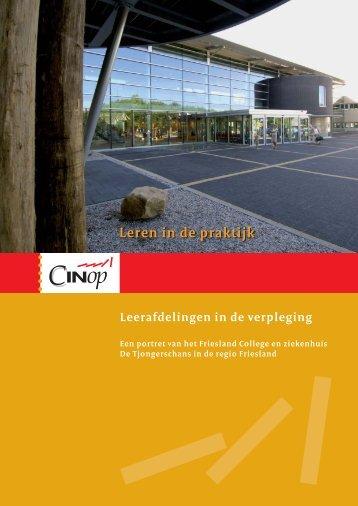Leren in de praktijk - Friesland College_v02.indd - Tjongerschans
