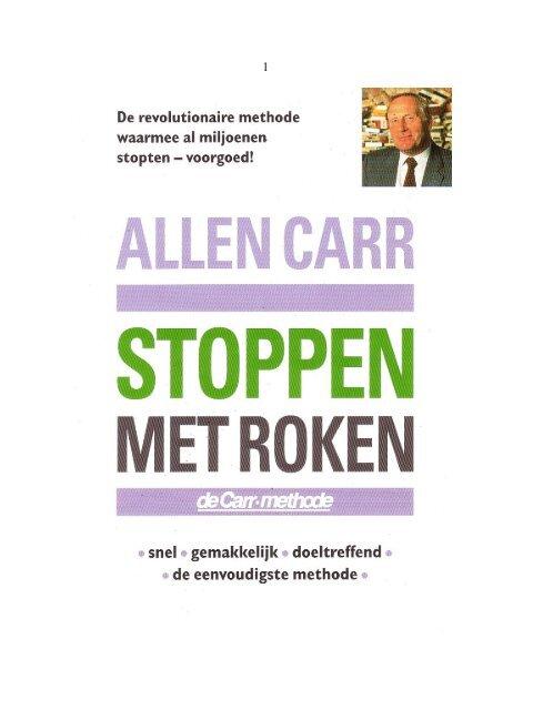 Stoppen Met Roken Allen Carrpdf Overspoor
