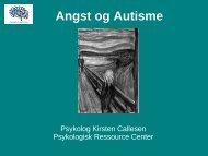 Angst og Autisme - Sikon
