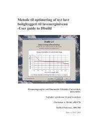 User guide to Dbuild - energirigtigtbyggeri.dk