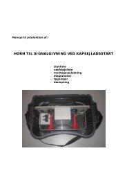 horn til signalgivning ved kapsejladsstart - Dansk Sejlunion