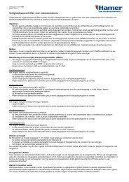 Veiligheidsvoorschriften voor onderaannemers - Hamer