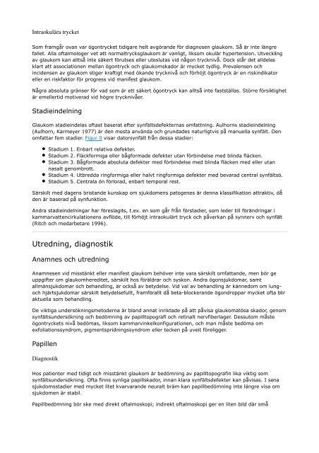 State of the Art_ Öppenvinkelglaukom - Sveriges ögonläkarförening