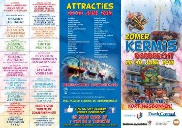 1,- korting - Kermis Dordrecht