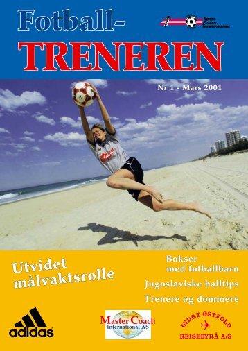 Prisene 2001 - trenerforeningen.net