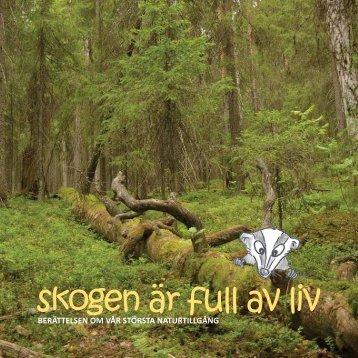 skogen är full av liv
