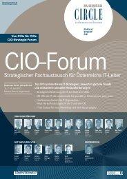 CIO-FOruM 2013 - Business Circle