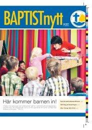 Nr 3 2007 - Svenska Baptistsamfundet