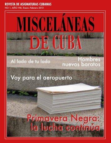 la lucha continúa - Misceláneas de Cuba