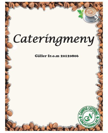 Cateringmenyn som PDF - GN Catering