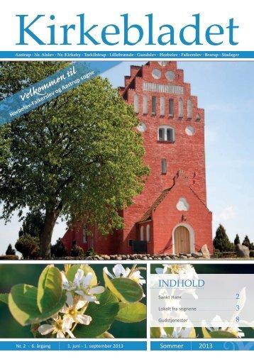 Kirkeblad 2.6 - Nørre Alslev og Nørre Kirkeby Pastorat