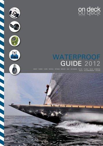 WATERPROOF GUIDE 2012 - On Deck