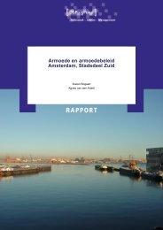 Armoede en armoedebeleid Amsterdam, Stadsdeel Zuid - DSP-groep