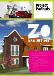 + Laag energieverbruik door optimale isolatie + In ... - Project Panhuis