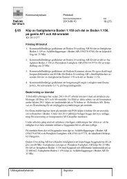 § 85 Köp av fastigheterna Boden 1:159 och del ... - Bodens kommun