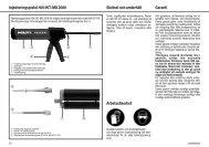 Injekteringspistol Hilti HIT-MD 2000 Garanti Skötsel och underhåll ...