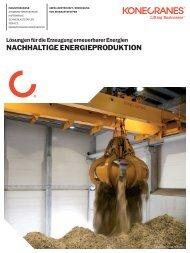 Energy from Waste Nachhaltige Energieproduktion PDF - Konecranes