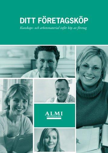 Ditt företagsköp (ALMI Företagspartner, 2008)