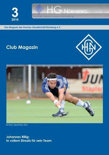 HG Nürnberg Club Magazin 3/2010