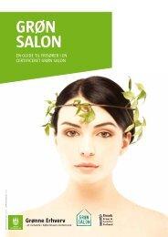 Folder om Grøn Salon ordningen - Energitjenesten