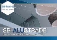 SB-Alustrade folder - NL - 17-10-2011.indd - Sb-railing