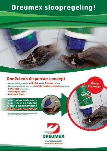 Dreumex sloopregeling ! - Buurman Facilitaire Producten