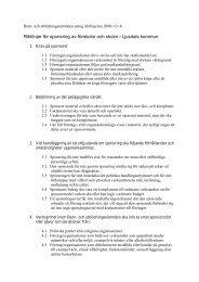 Riktlinjer för sponsring av förskolor och skolor i Ljusdals kommun