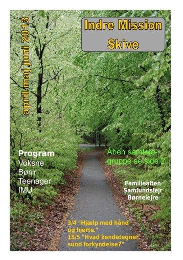 program 12 sider i farver - Indre Mission I Skive