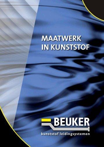 Brochure Maatwerk in kunststoffen - Beuker