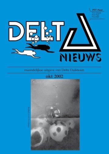 okt 2002 - Delta Duikteam