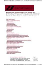 Side 1 af 11 Nyhedsbrev fra Det Danske Kulturinstitut - Nr. 23 ...