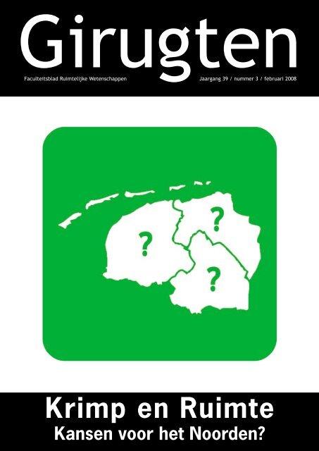 Krimp en Ruimte: Kansen voor het Noorden? - girugten
