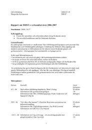21. FRIST, rapport 2006-2007.pdf - GR Utbildning