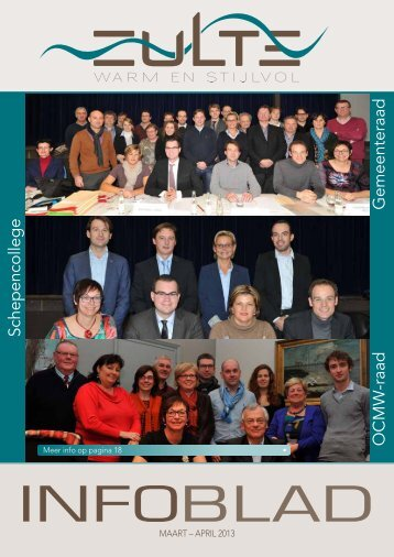 Infoblad maart - Gemeente Zulte