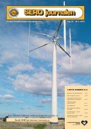 SERO nummer 3 2010 - Sveriges Energiföreningars Riksorganisation