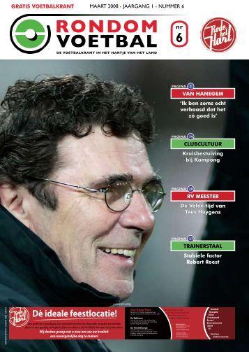 seizoen 2007/2008 nummer 6 - Rondom Voetbal
