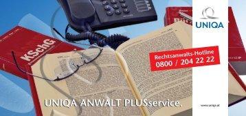 381-06 Karte UNIQA Anwaltplus