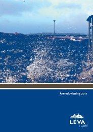 Årsredovisning 2011.pdf - LEVA i Lysekil