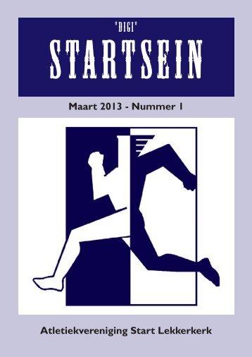 Nieuwsbrief maart 2013 - AV Start