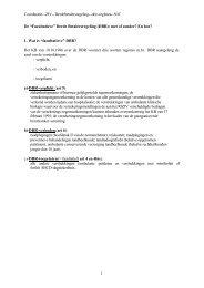 Coordinatie--ZIV--Derdebetalersregeling--drie-regimes--NIC 1 De ...