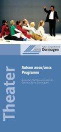 Theater Saison 2010/2011 Programm