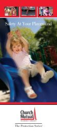Safety At Your Playground - Church Mutual Insurance Company