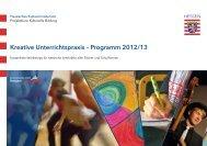 Kreative Unterrichtspraxis - Kulturportal Schule Hessen