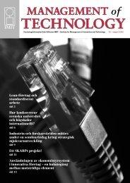 Nummer , augusti 2008 - Stiftelsen IMIT