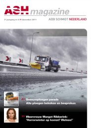 ASH Magazine December 2011 - Aebi Schmidt
