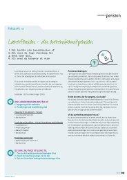 LærerPension – din overenskomstpension - Lærernes Pension