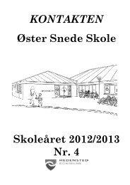 kontakten marts 2013.pdf - Skoleporten Øster Snede Skole