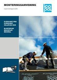 Monteringsanvisning Underlagsprodukter - Icopal AB